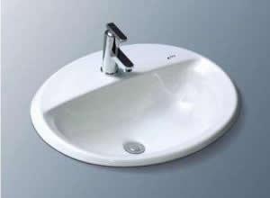 Chậu rửa mặt Inax L 2395V